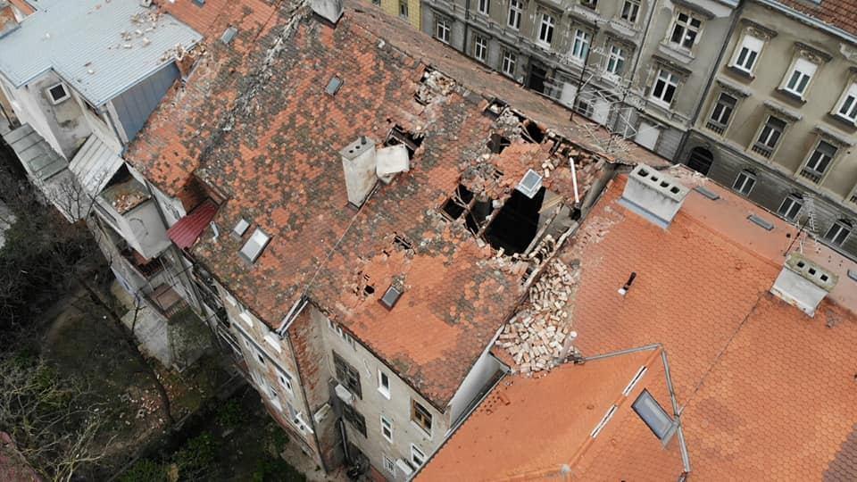 Obnova zgrada oštećenih potresom.