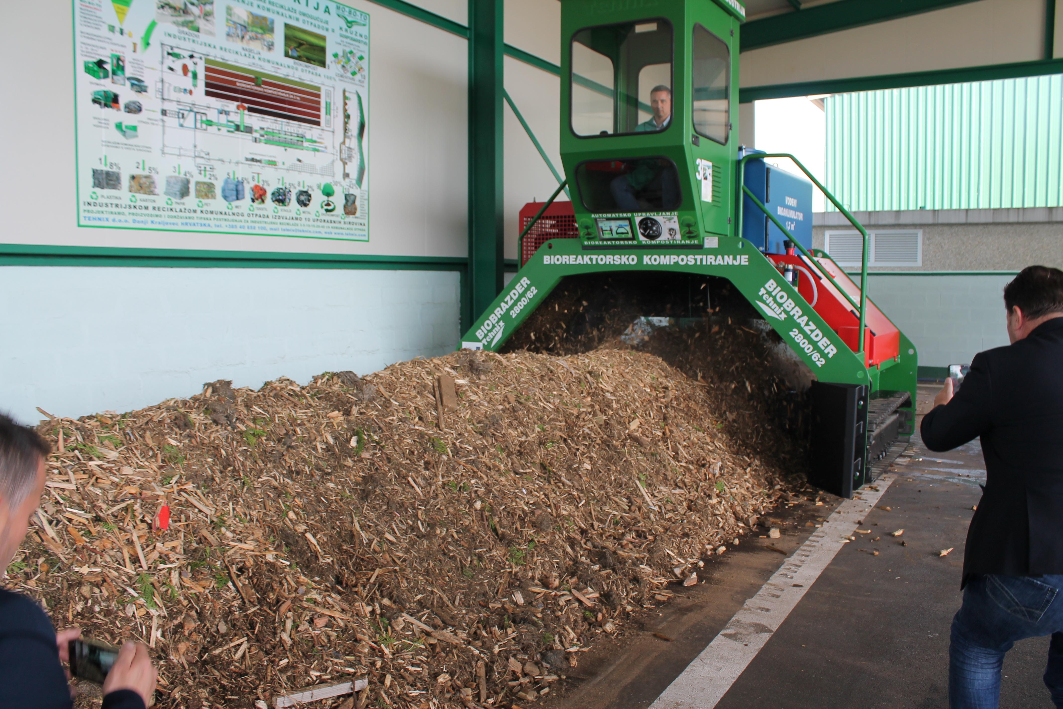 Prezentacija nove tehnologije za biorazgradivi otpad