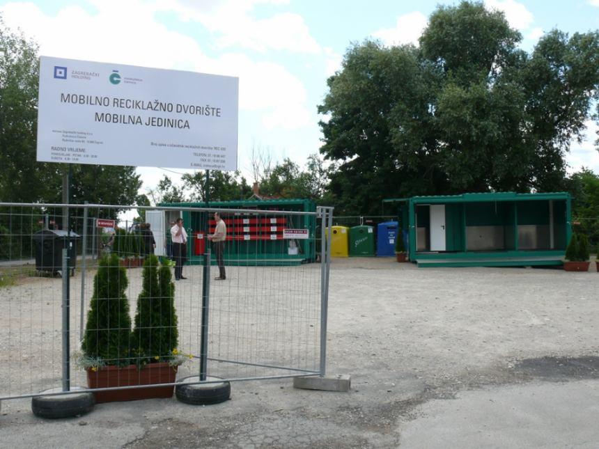 Reciklažna dvorišta u gradu Zagrebu